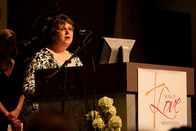 2011 Arms of Love Banquet - Denise Stauffer, Group Facilitator of PEACE Post-Abortion Ministry