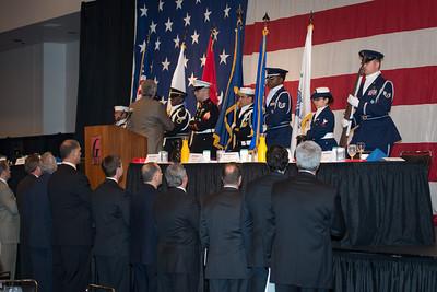 Scott Airforce Base Color Guard