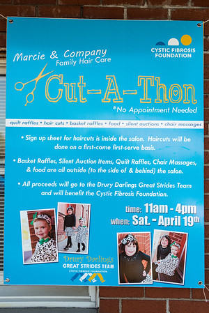 Cut-A-Thon for Drury Darlings