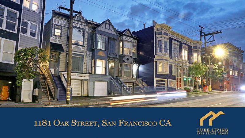 1181 Oak St SF Video Walkthrough