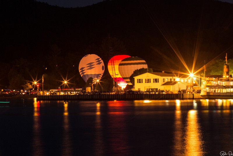 At the Adirondack Balloon Festival