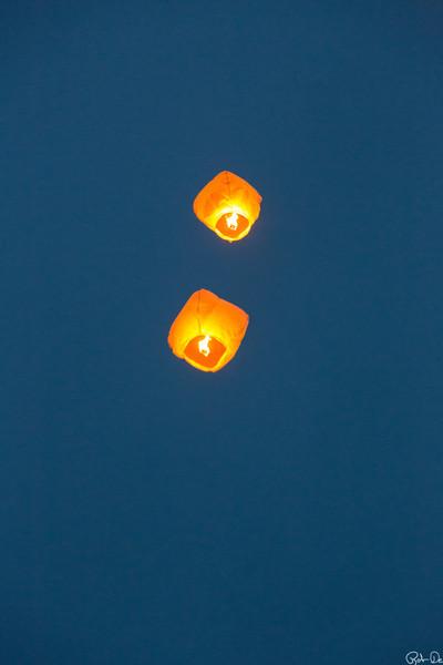 Balloons at Lake George