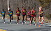 Lead Women at Mile 4 |
