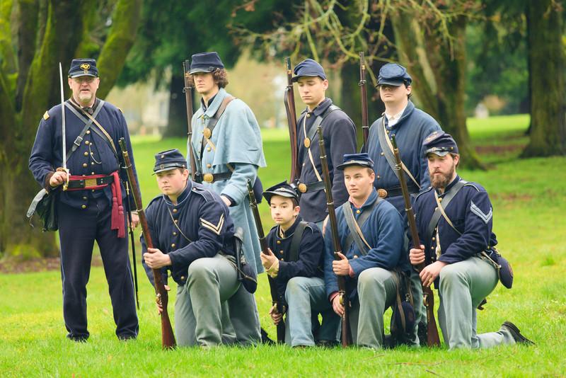 Civil War Reenactors Vancouver Wa-42