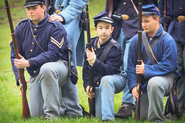 Civil War Reenactors Vancouver Wa-41