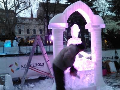 Ice sculptures Košice