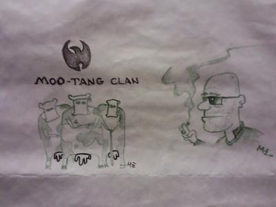 "Obrázok ""Moo-tang clan"" na art walle"