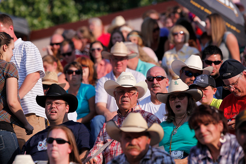 People gather for the week of Pioneer Days celebration. in Ogden, on July 19, 2014. (BRIAN WOLFER/Standard-Examiner)