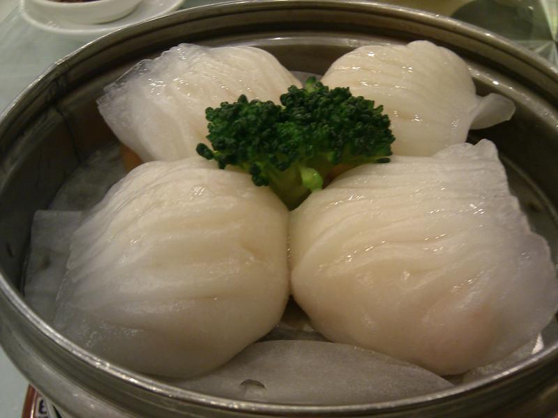 Happy Harbor Restaurant - Crystal Shrimp Dumplings (Ha Gow)
