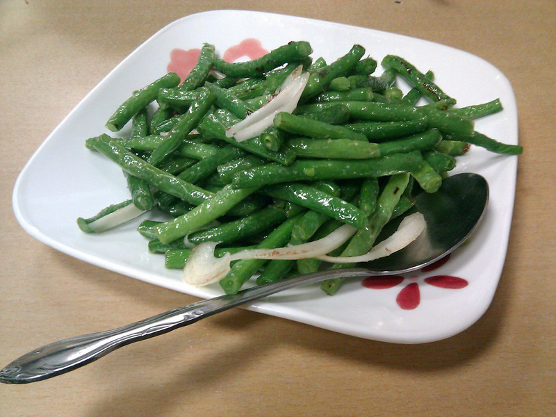 Taishan Cafe - Crisp Green Bean with Garlic Sauce