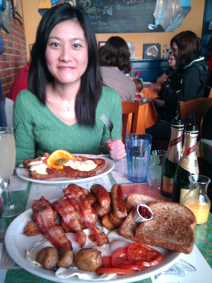 Blue Fox Cafe - Fox's Grill, Peasant's Toast