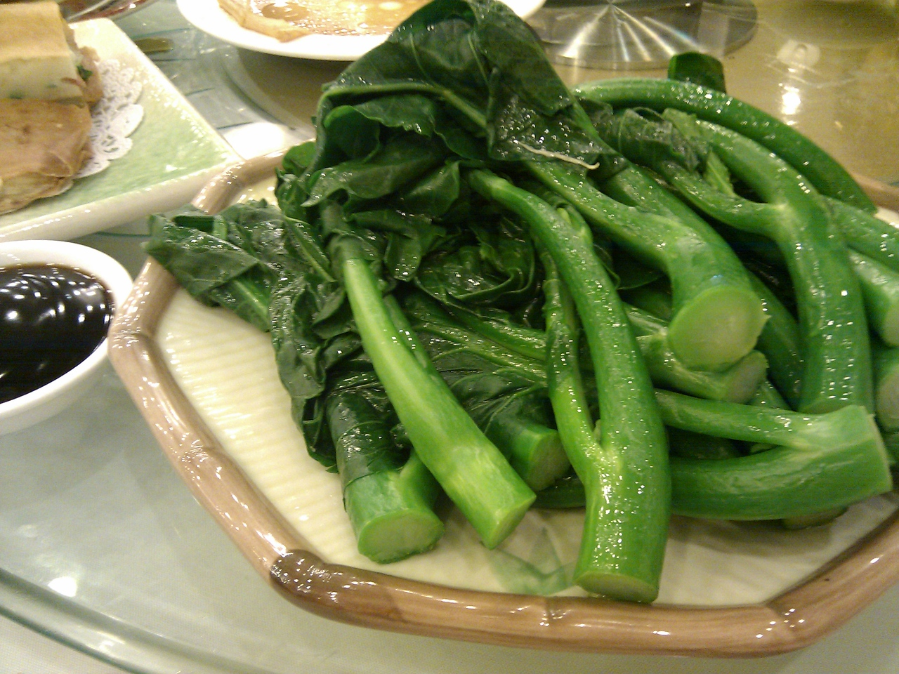 Happy Harbor Restaurant - Chinese Broccoli with Oyster Sauce