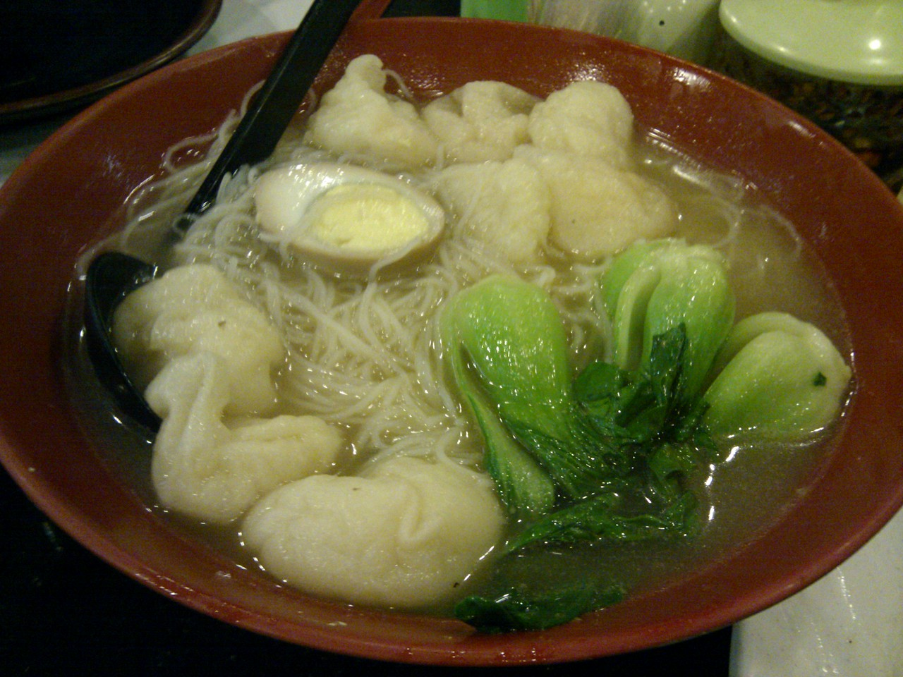 Hong Kong Kitchen - House Special Fish Puff Noodle Soup
