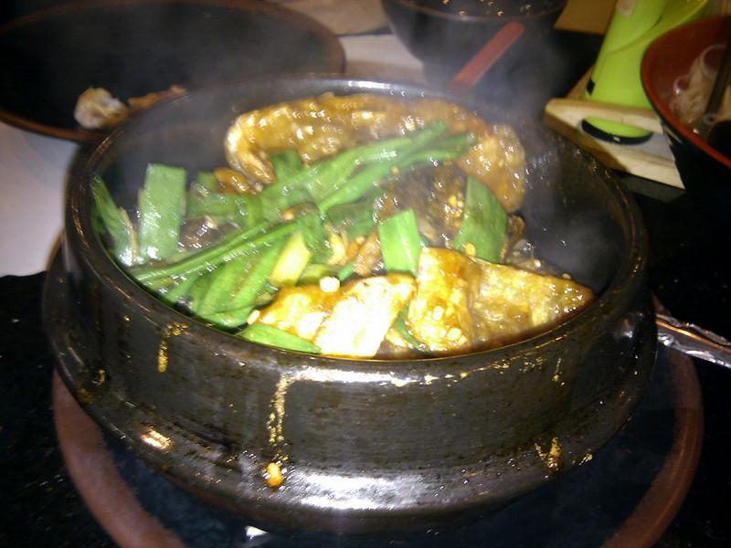 Hong Kong Kitchen - Salmon Head Claypot