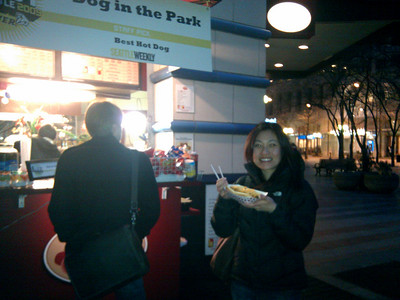 Dog In The Park - Chili Cheese Dog