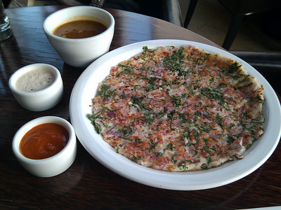 Dosa - Uttapam - Caramelized Onion