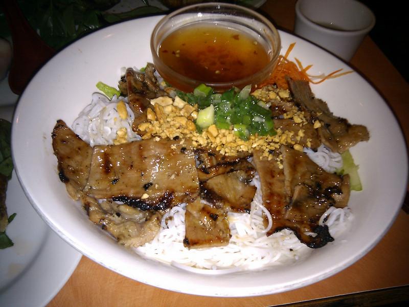 Pho Phu Quoc Vietnamese - Charbroiled Pork Vermicelli