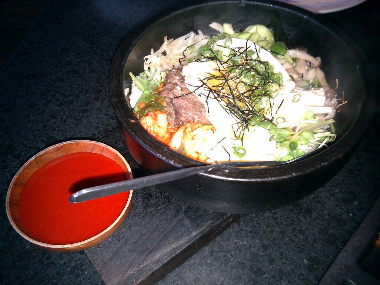 Namu - Sizzling Stonepot with Kobe Steak