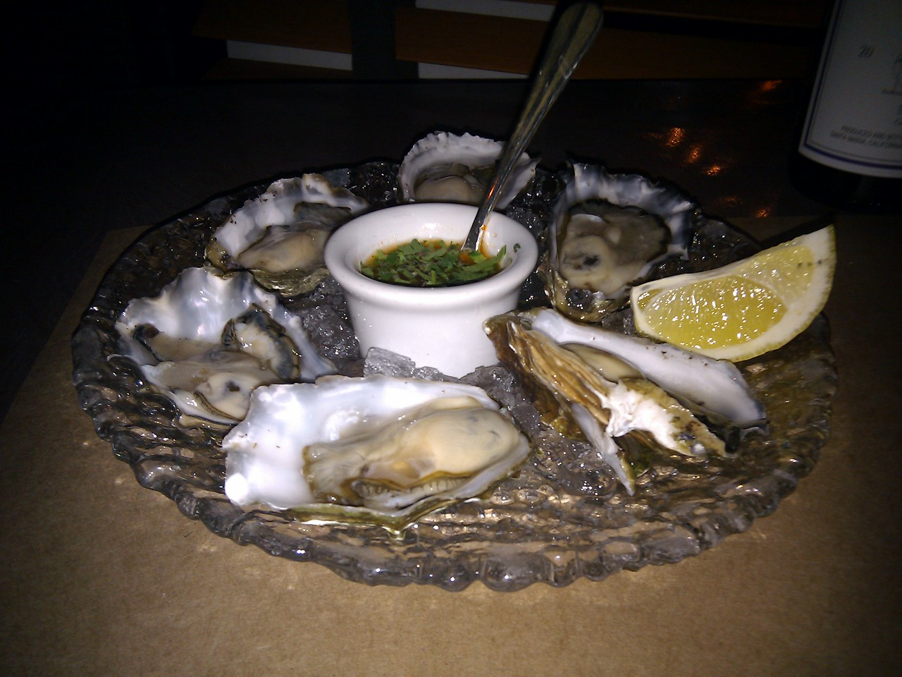 Isa Restaurant - Point Reyes Oysters