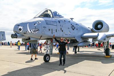A-10 Warthog plane.