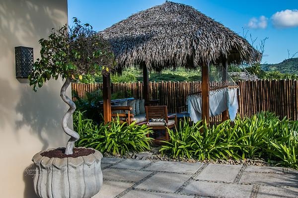 Relaxing area in our Villa - Mukul Resort Nicaragua