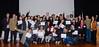 Grupo de formandos com diplomas