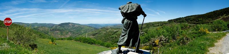 Alto do San Roque - Camino Santiago de Compostela/Espanha