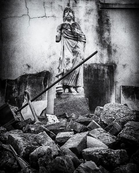 Standing Among the Destruction