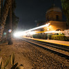 San Juan Depot - Lights Arriving First<br /> Shutter Speed - 10 seconds<br /> ISO 400<br /> f/22<br /> Focal Length - 24mm