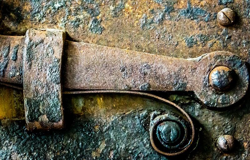 Ancient Door Detail , Genoa     .Entered
