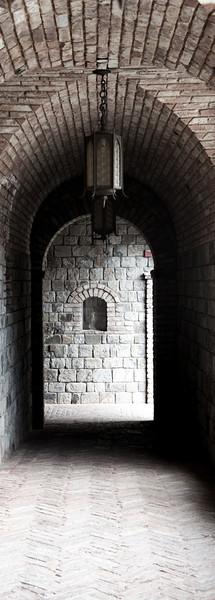 Castle Corridor at Castello de Amaroso