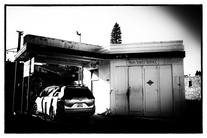 Cool Old Filling Station in Calistoga