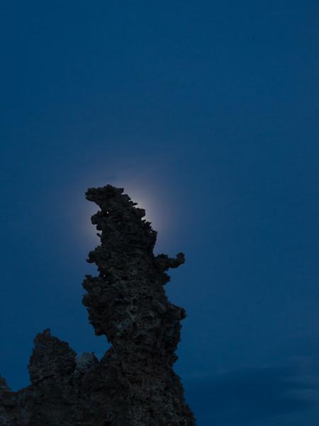 Hidden Moonlight at Mono Lake