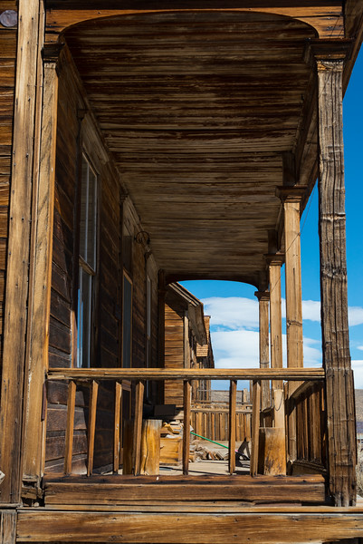 Porch At Bodie