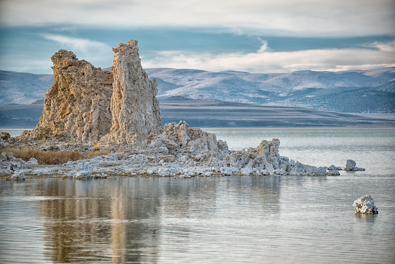 Mono Lake Tufas with Sierras