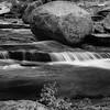 Stream and Boulder in Tuolumne