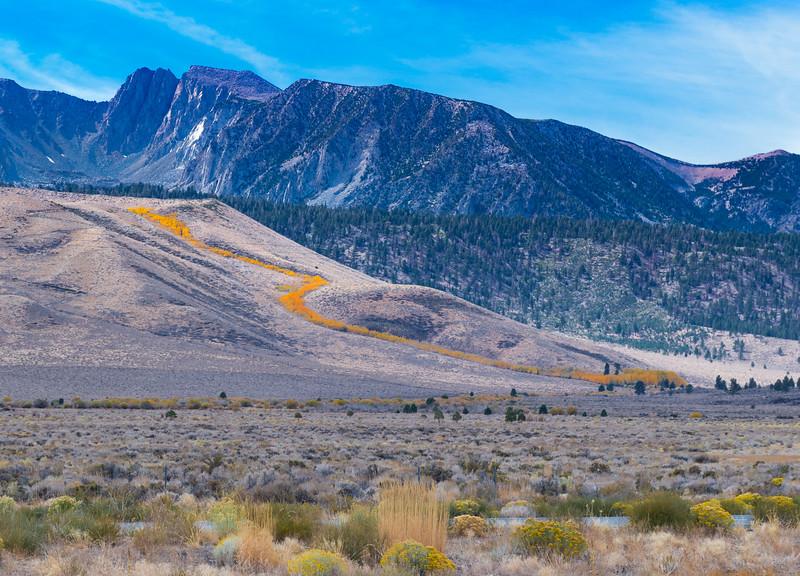 Ribbon of Gold Eastern Sierras