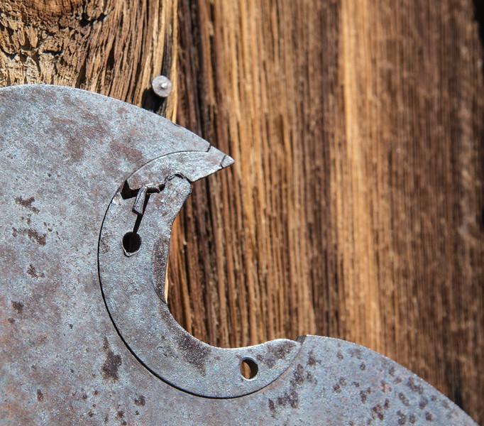 Sawblade On Barn