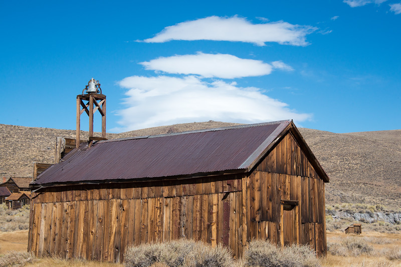 Old Firehouse at Bodie
