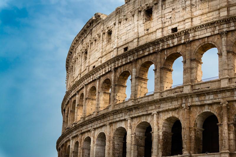 The Roman Coloseum