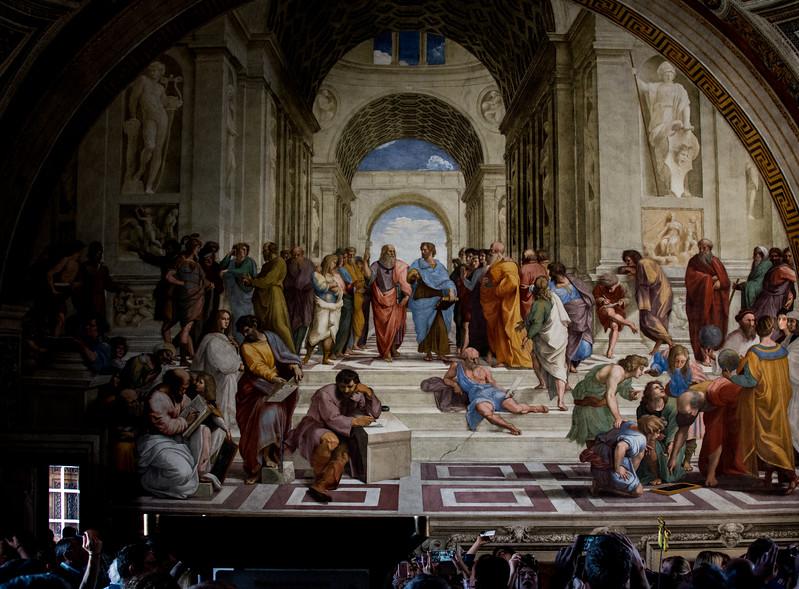 Fresco at Vatican