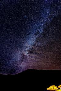 Milky Way in the Sahara
