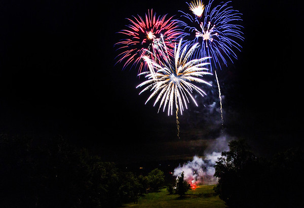 Red, white & blue fireworks!