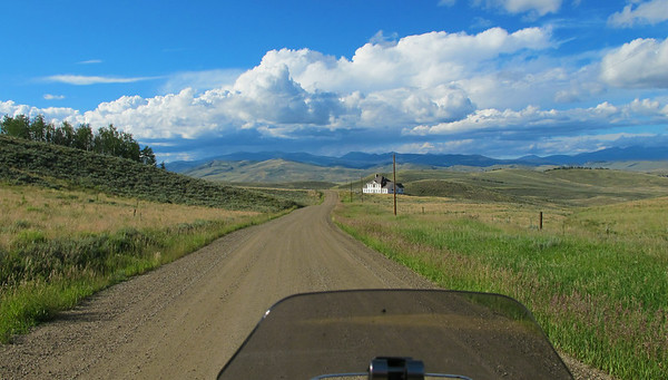 Backroads near Granby Colorado