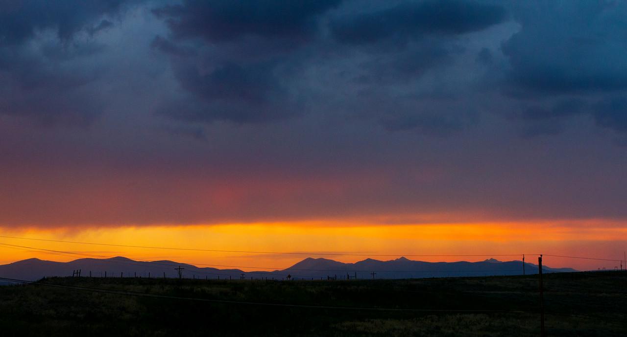 Granby Sunset - July 26, 2014