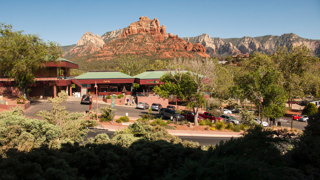 View from Sedona Motel