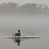Rowing Into Morning Fog