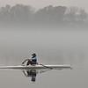 Rowing Into Morning Fog