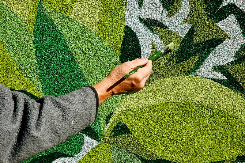 Mural Painter in Red Bank New Jersey.