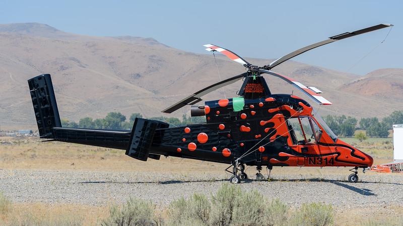K-Max Helicopter, Challis, Idaho